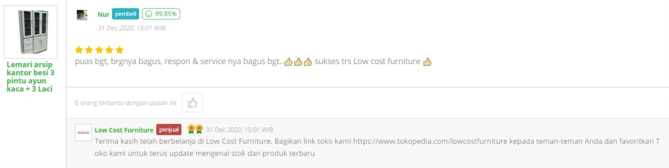 Testimonial-customer-low-cost-furniture-tokopedia (2)